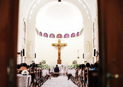 Riyadi & Soraya | Kapel St. Ursulin, Bandung